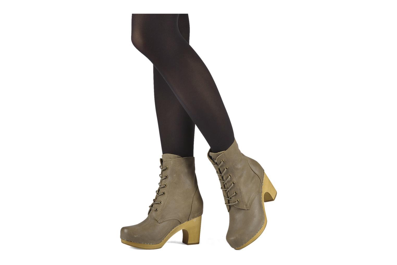 Bottines et boots Jeffrey Campbell Erikson Marron vue bas / vue portée sac