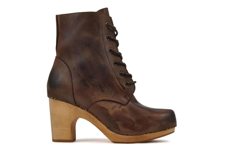 Bottines et boots Jeffrey Campbell Erikson Marron vue derrière