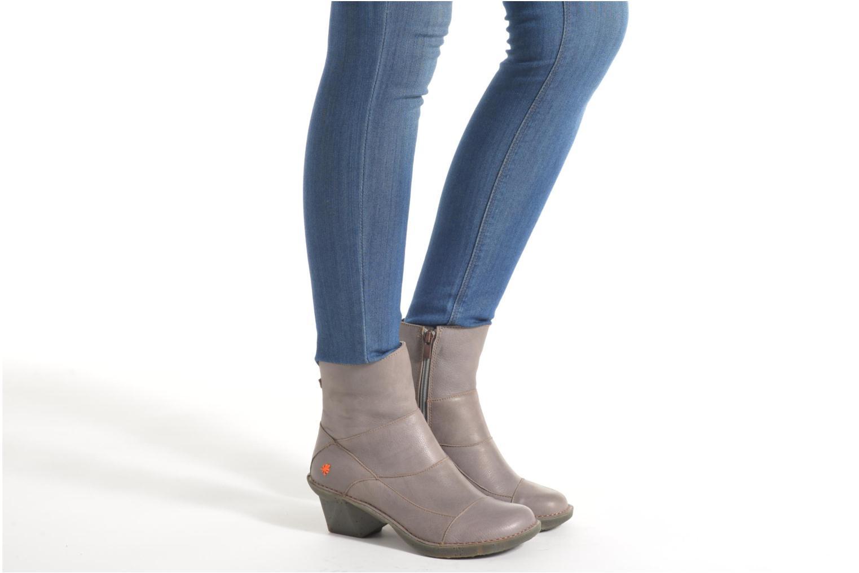 Bottines et boots Art Oteiza 621 Gris vue bas / vue portée sac