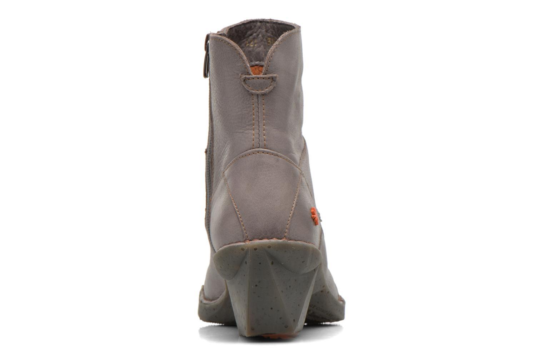 Bottines et boots Art Oteiza 621 Gris vue droite