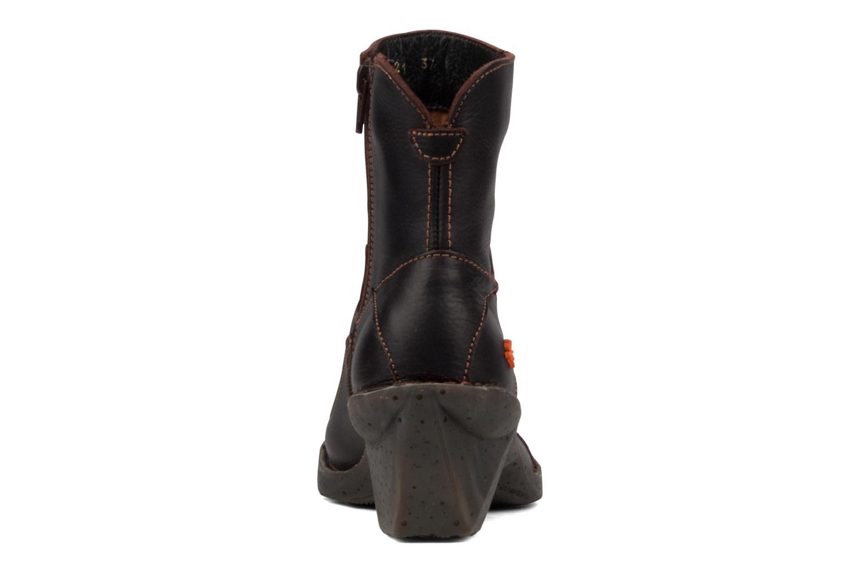 Bottines et boots Art Oteiza 621 Marron vue droite