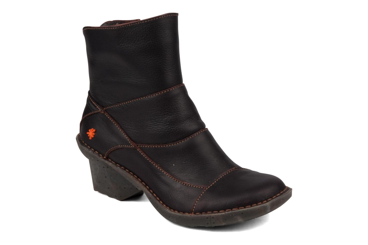 Ankle boots Art Oteiza 621 Brown detailed view/ Pair view