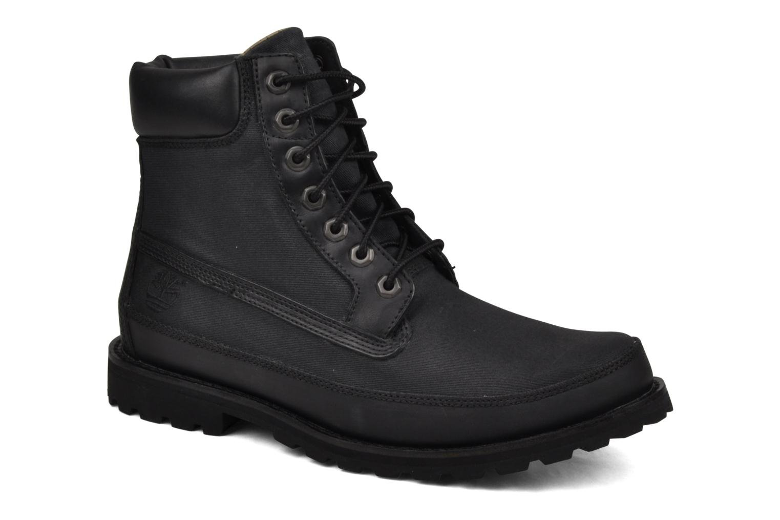Bottines et boots Timberland 6 Inch Earthkeepers Noir vue détail/paire