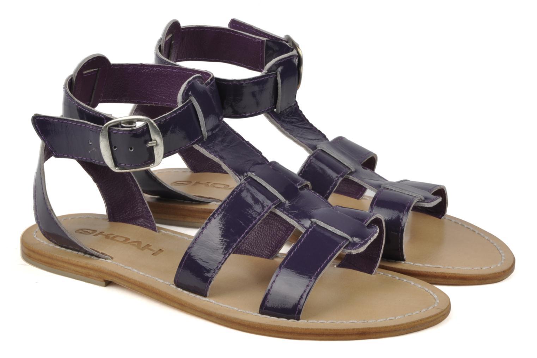 Sandales et nu-pieds Koah Ital Violet vue 3/4