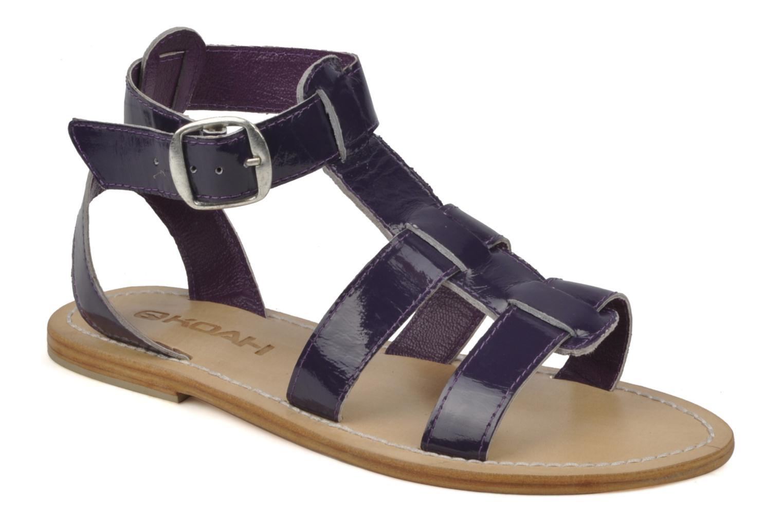 Sandales et nu-pieds Koah Ital Violet vue détail/paire