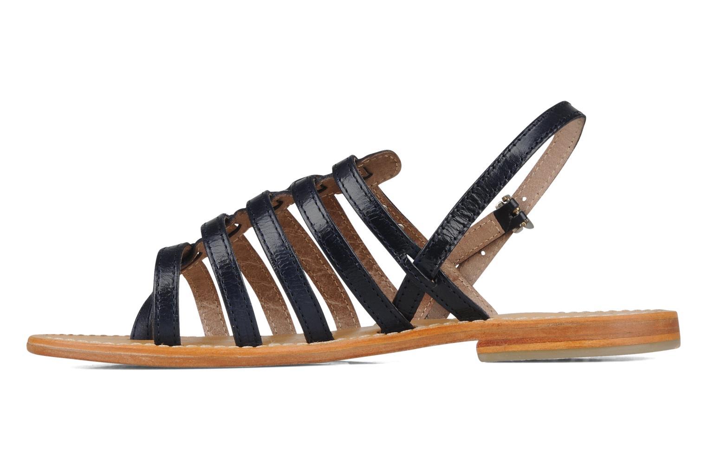 Sandales et nu-pieds Les Tropéziennes par M Belarbi Herisson Bleu vue face