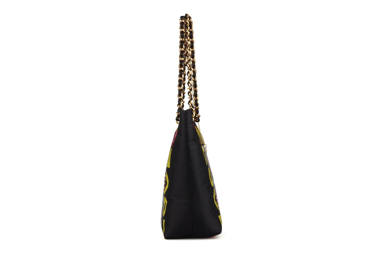 Handtaschen Love Moschino Charming bag shopper mehrfarbig ansicht von rechts