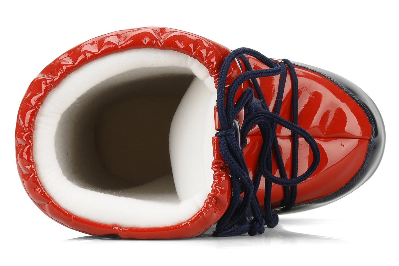Chaussures de sport Moon Boot Vinil Rouge vue gauche