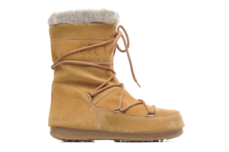 Bottines et boots Moon Boot Butter mid Marron vue derrière