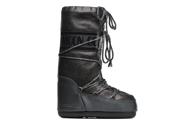 Bottes Moon Boot Delux Noir vue derrière