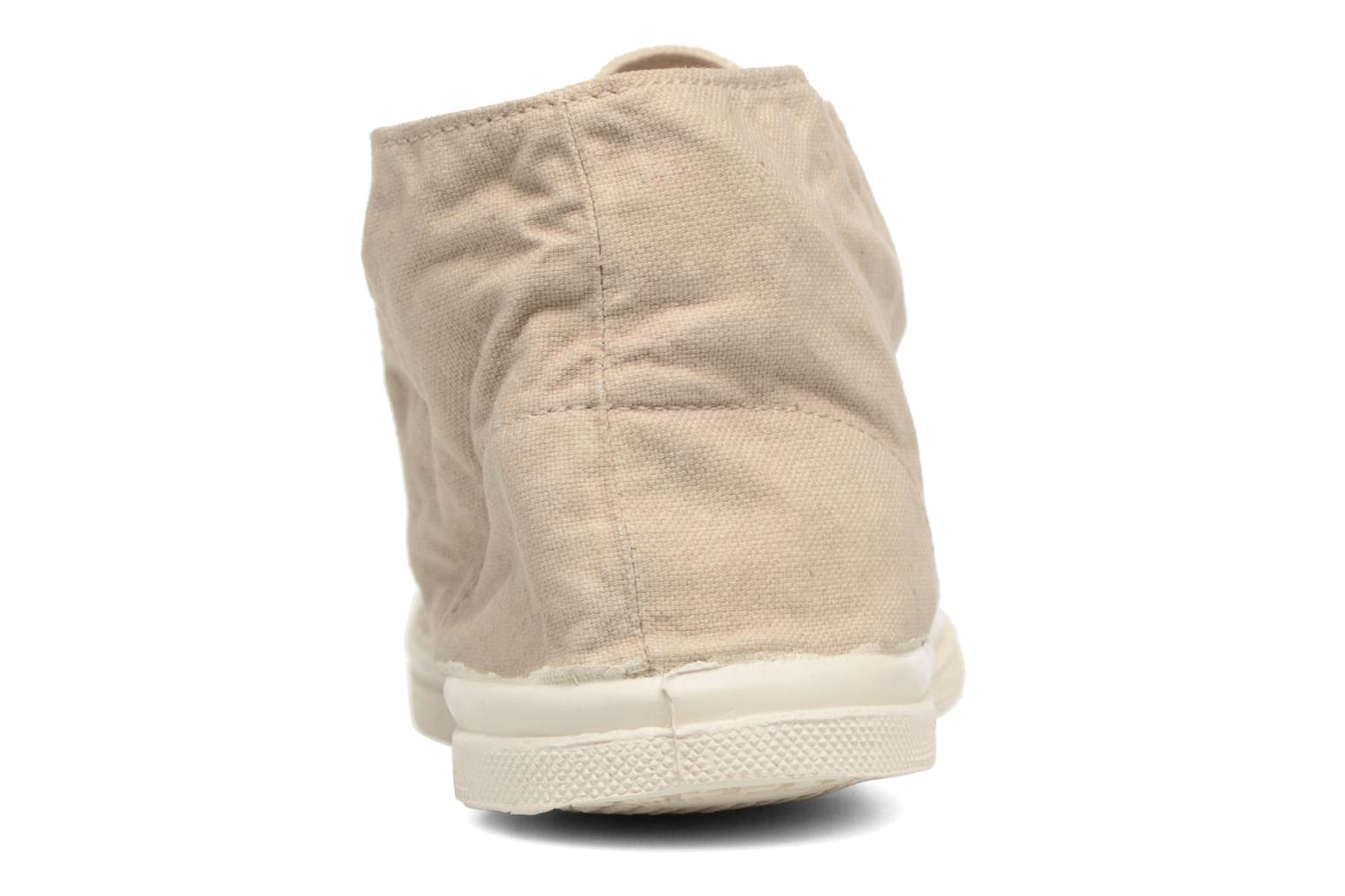 Trainers Bensimon Nils h Beige view from the right