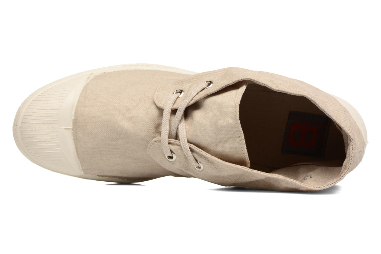 Trainers Bensimon Nils h Beige view from the left