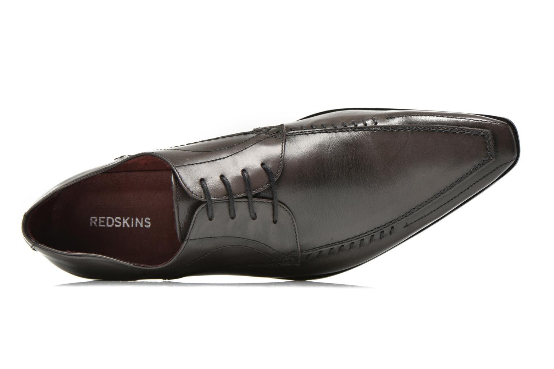 Zapatos con cordones Redskins Hello Gris vista lateral izquierda