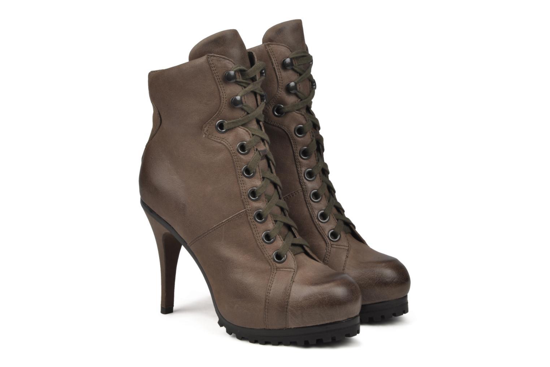 Bottines et boots Ash Patty Marron vue 3/4