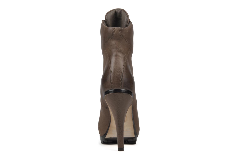 Bottines et boots Ash Patty Marron vue droite