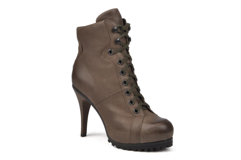 Bottines et boots Ash Patty Marron vue détail/paire