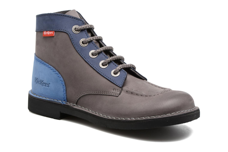 Chaussures à lacets Kickers Kick color perm Gris vue détail/paire