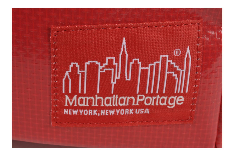 Zaini Manhattan Portage Big Apple Backpack MD Rosso immagine sinistra