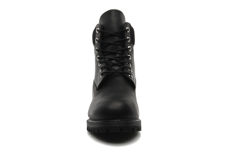 Stiefeletten & Boots Timberland 6 inch premium boot schwarz schuhe getragen