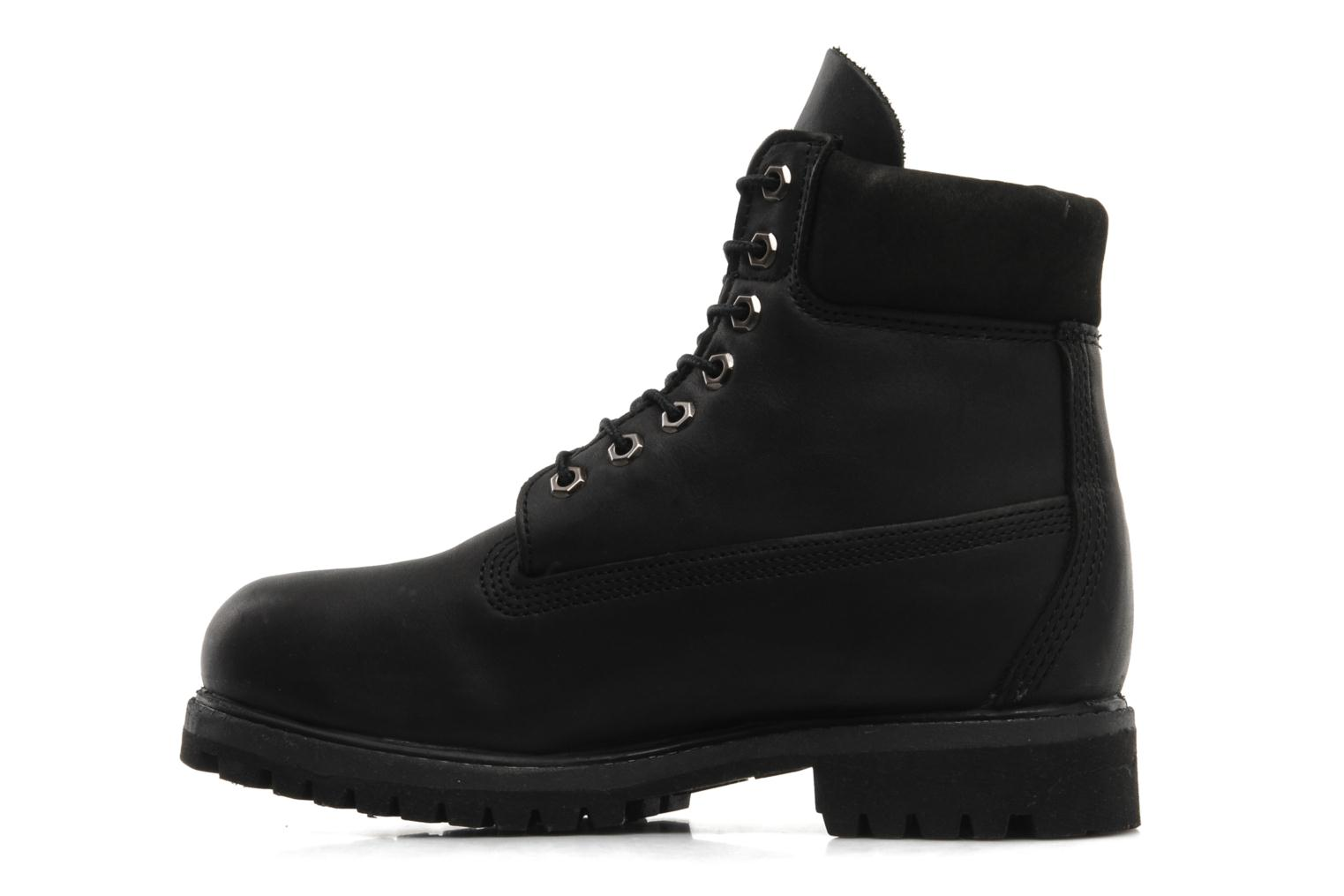 6in premium boot Black Smooth