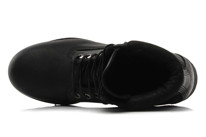 6in premium boot Black Smooth