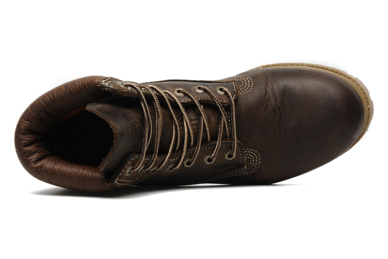 6 inch premium boot Brown Burnished Full Grain