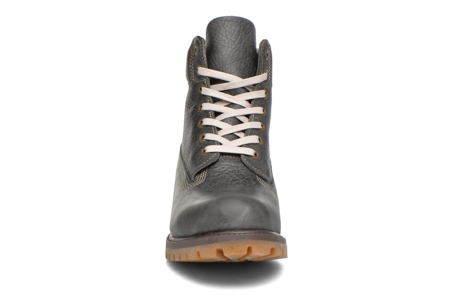 Bottines et boots Timberland 6in premium boot Gris vue portées chaussures