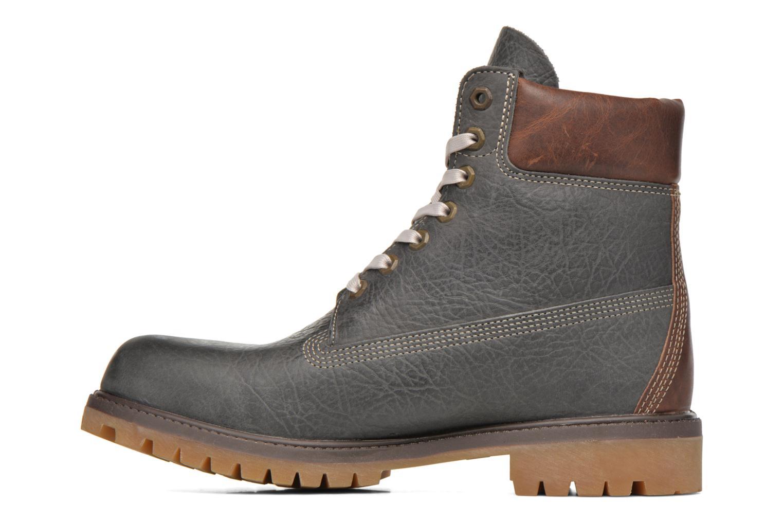 Stiefeletten & Boots Timberland 6 inch premium boot grau ansicht von vorne