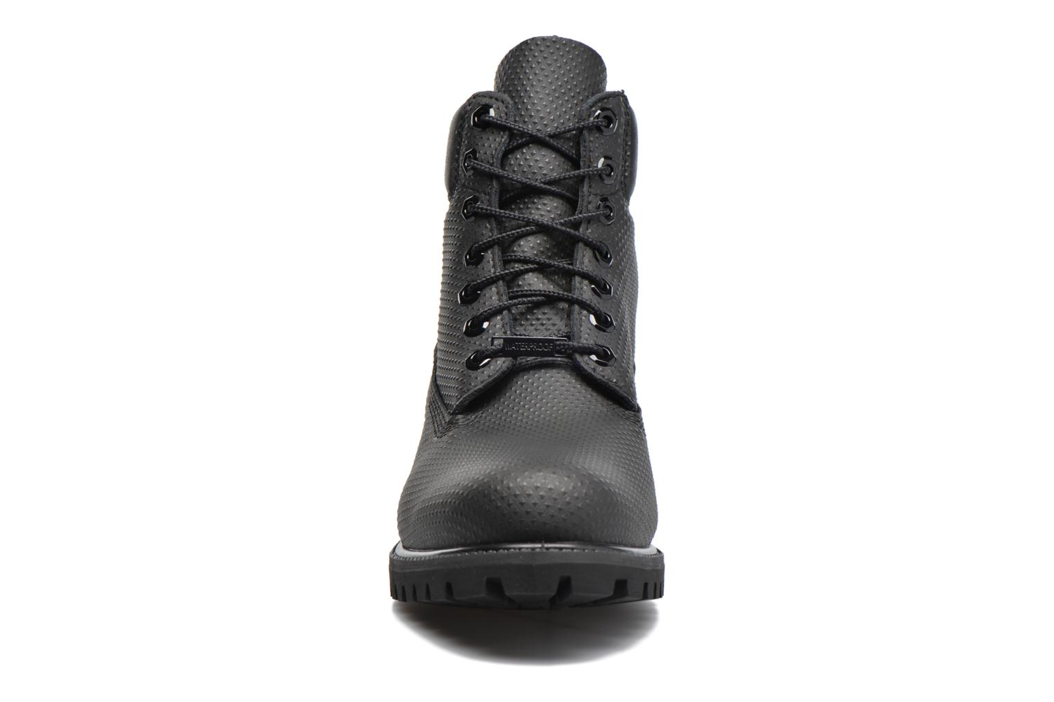 6in premium boot Black Spikey Helcor