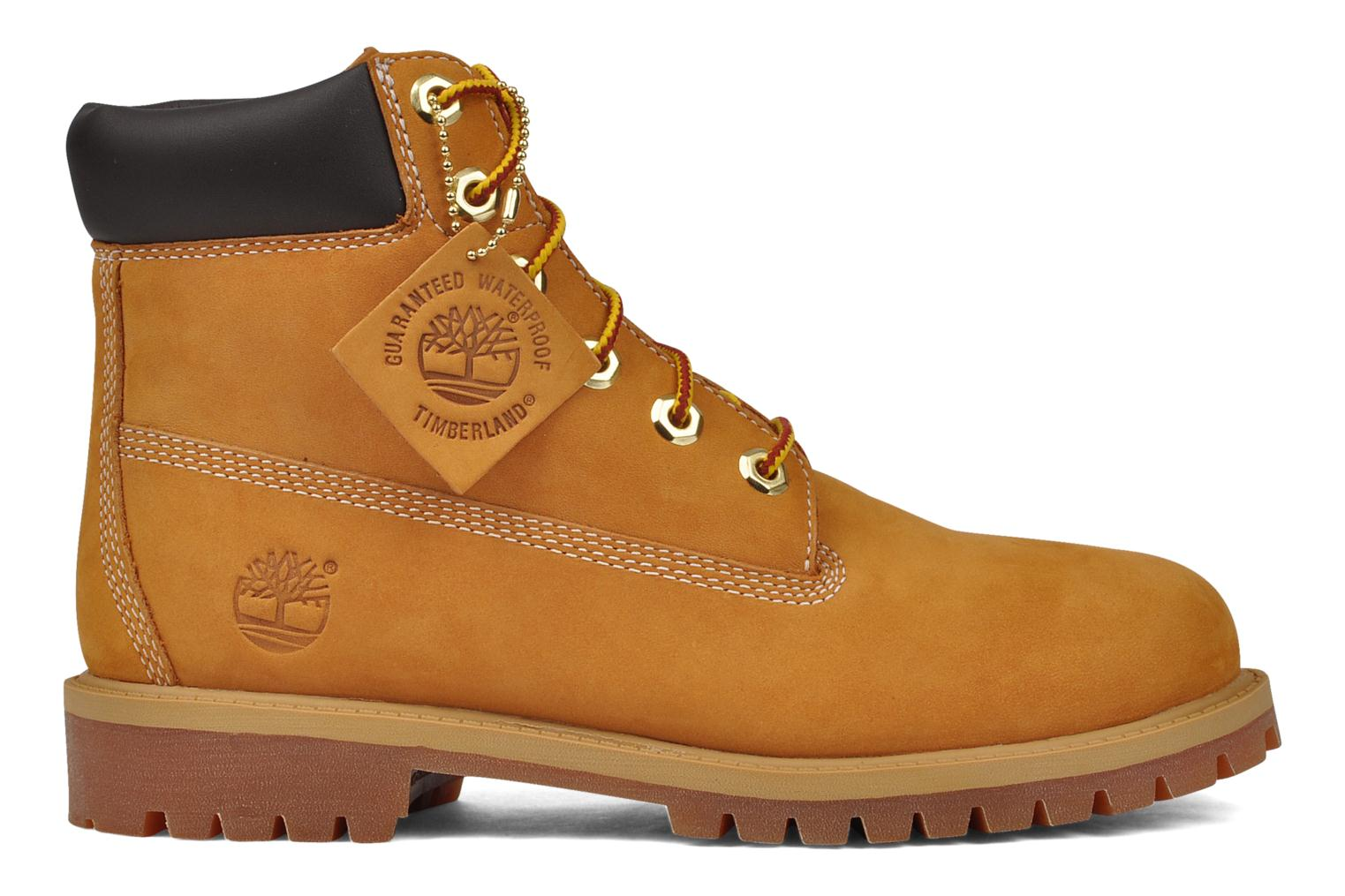 Ankle boots Timberland 6in premium boot Beige back view