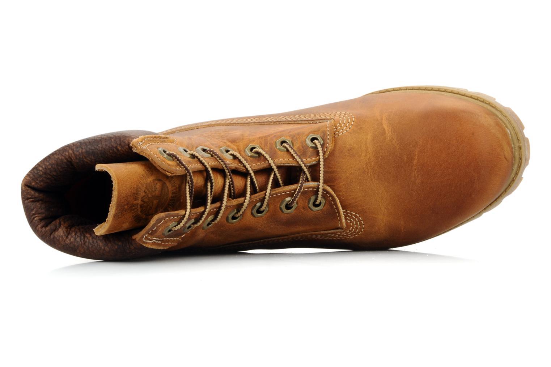 6 inch premium boot Burnt orange worn oiled