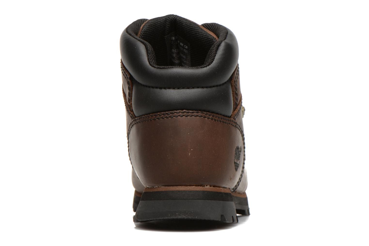 Ankle boots Timberland Euro sprint Kids Brown view from the right