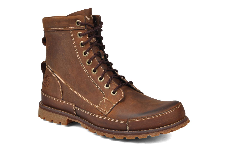 Boots en enkellaarsjes Timberland Earthkeepers Burn Bruin detail