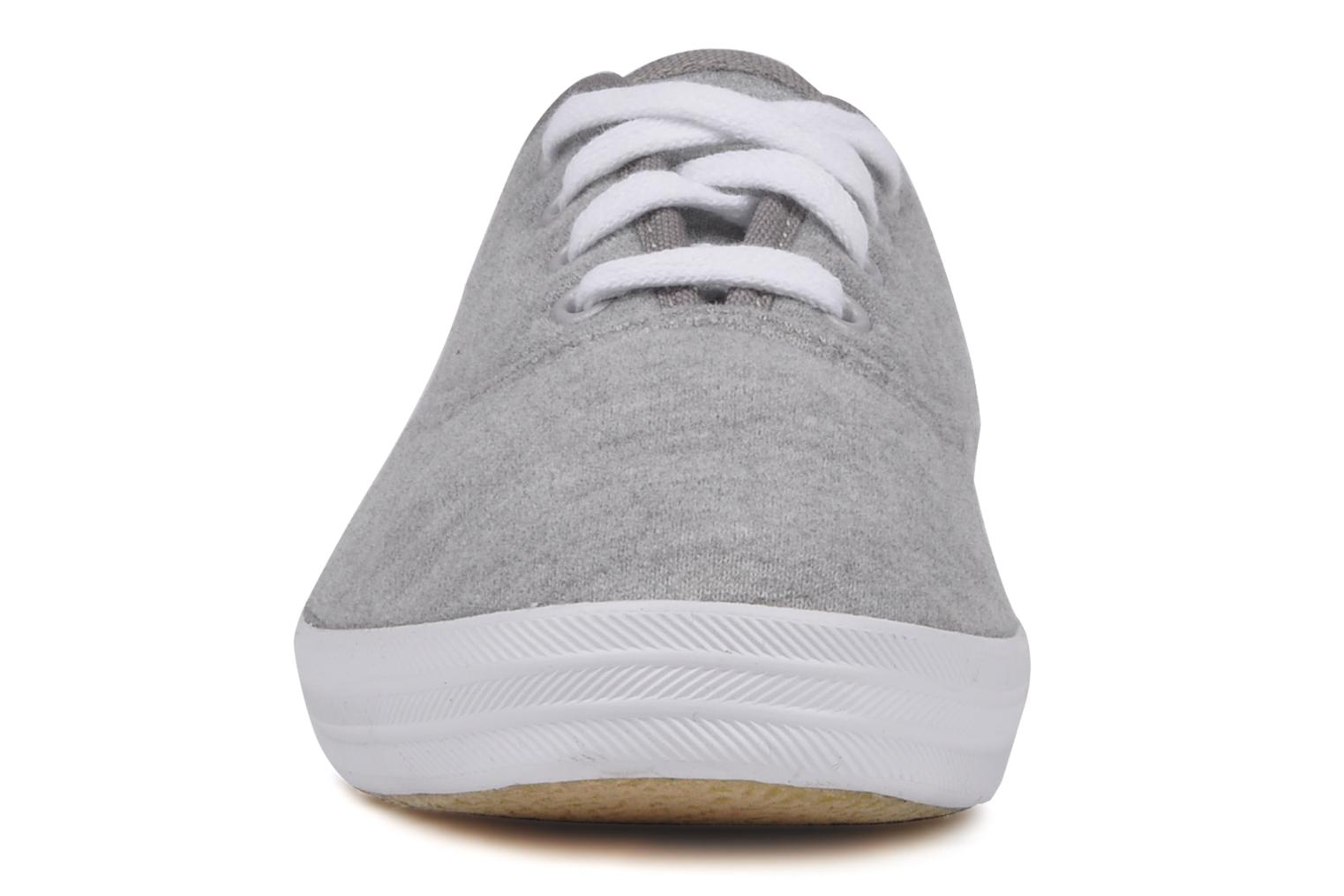Trainers Keds Champion jersey Grey model view