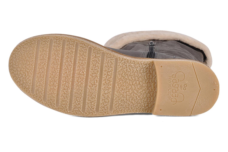 Stiefeletten & Boots Le temps des cerises Forea grau ansicht von oben