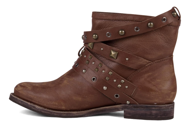 Bottines et boots Studio TMLS Teresina Marron vue face