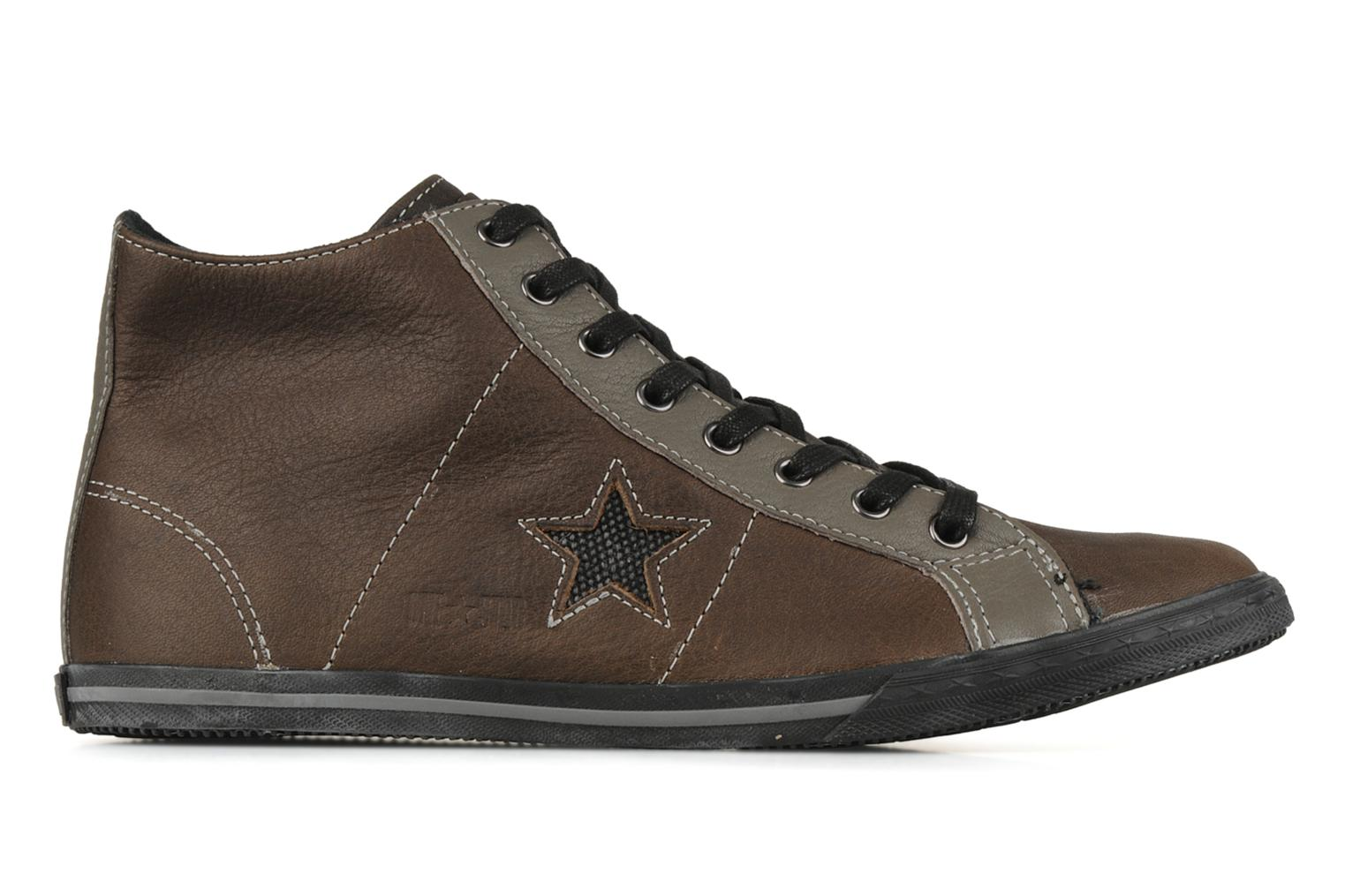 One star low profile mid m Gris Noir