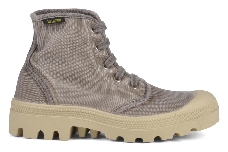 Sneakers Palladium Pampa high vnt 14466 Grigio immagine posteriore
