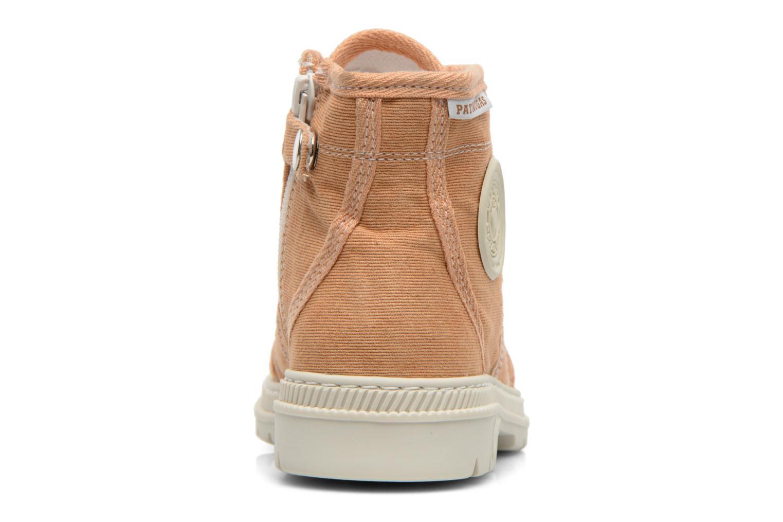 Boots en enkellaarsjes Pataugas Authentique E Oranje rechts