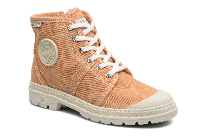 Boots en enkellaarsjes Pataugas Authentique E Oranje detail