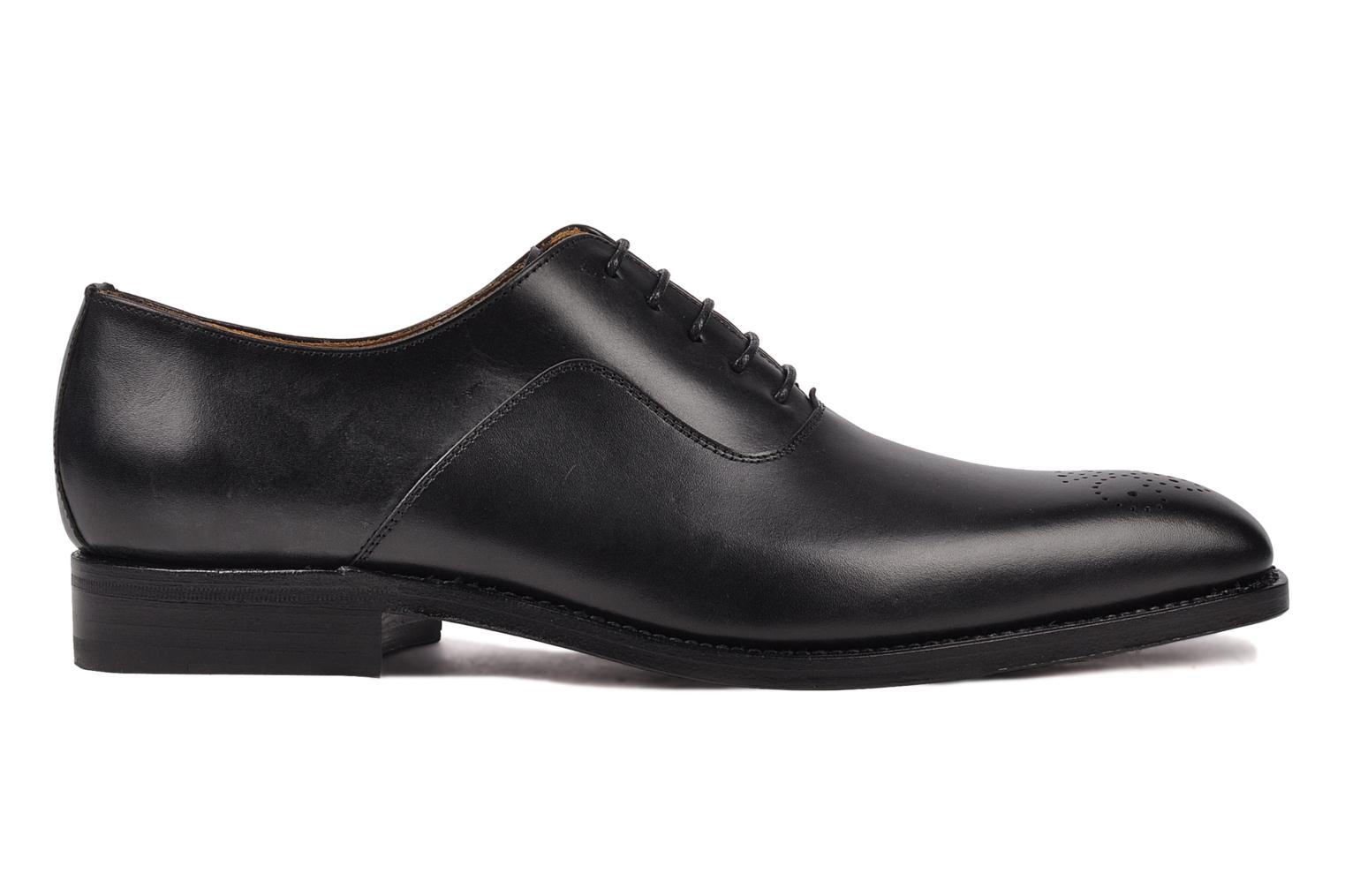 Lace-up shoes Finsbury Harlow Black back view