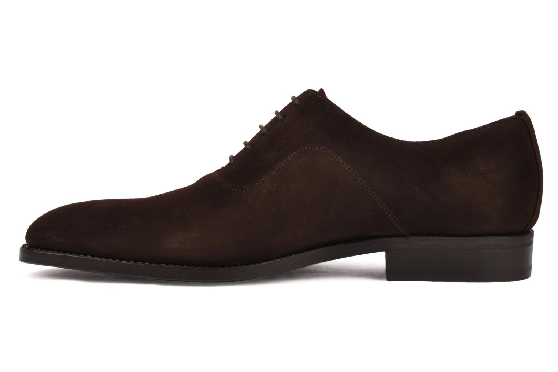 Chaussures à lacets Finsbury Harlow Marron vue face