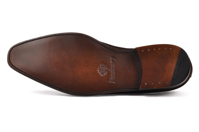 Chaussures à lacets Finsbury Harlow Marron vue haut