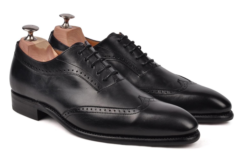 Chaussures à lacets Finsbury Belair Noir vue 3/4