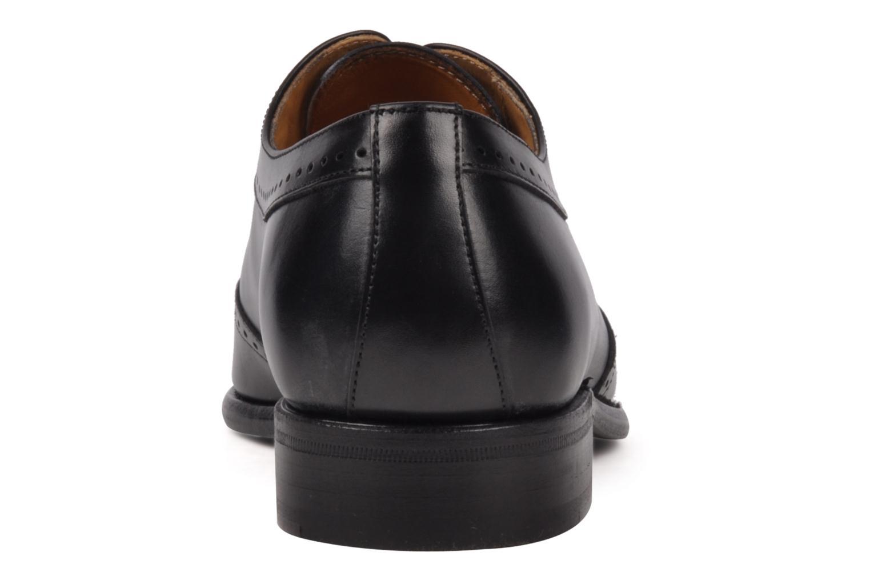 Chaussures à lacets Finsbury Belair Noir vue droite