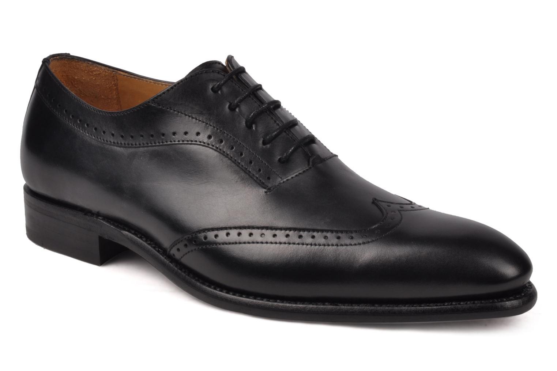 Chaussures à lacets Finsbury Belair Noir vue détail/paire
