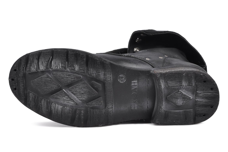 Bottines et boots Koah Karina Noir vue haut