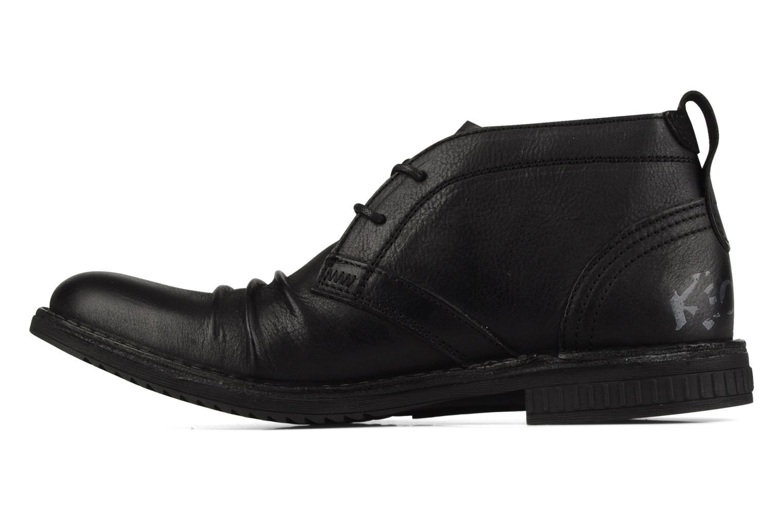 Chaussures à lacets Kickers Jecho Noir vue face