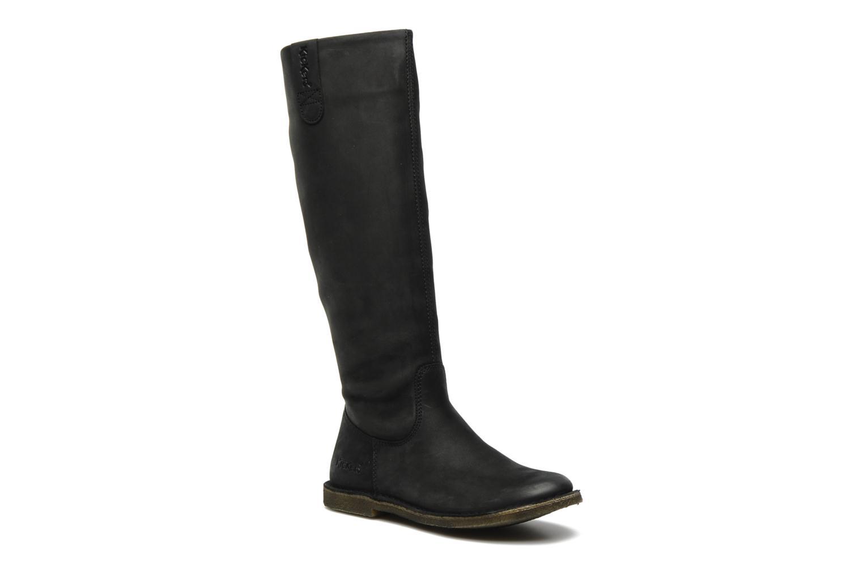 Støvler & gummistøvler Kickers Credo2 Sort detaljeret billede af skoene