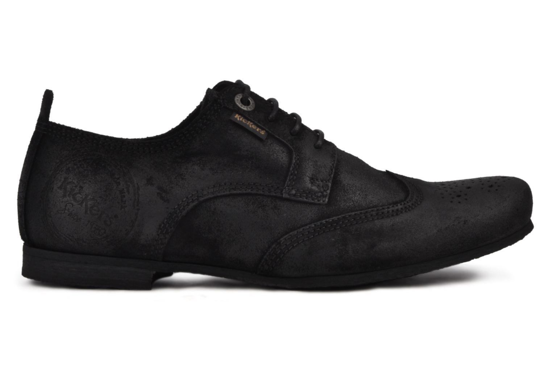Chaussures à lacets Kickers Koncept Noir vue derrière